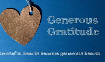 Generous Gratitude grateful hearts become generous hearts.JPG